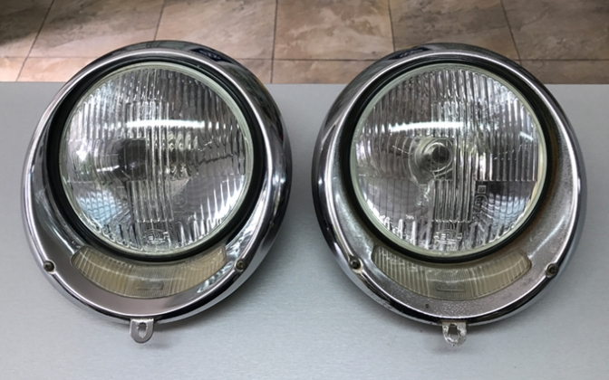 NOS/Used parts Used parts Origina ROSSI headlights for