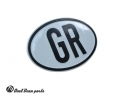 Country plate GR